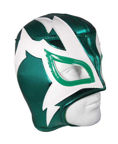 SHOCKER Lucha Libre Wrestling Mask (pro-fit) Green/White