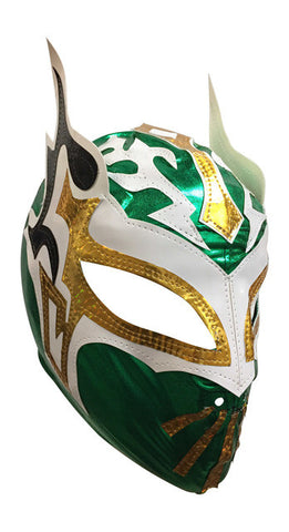 SIN CARA (Youth-LYCRA) Youth Lucha Libre Wrestling Mask - Green
