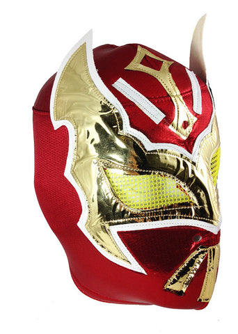 SIN CARA Lucha Libre Wrestling Mask (pro-fit) Red