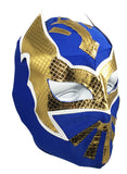 SIN CARA Youth Young Adult Lucha Libre Wrestling Mask - Royal Blue