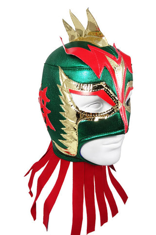 ULTIMO DRAGON Lucha Libre Wrestling Mask (pro-fit) Green