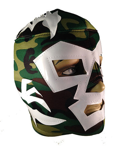 DR. WAGNER Lucha Libre Wrestling Mask (pro-fit) Cammo