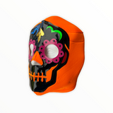 DAY OF DEAD Catrina Lucha Libre Wrestling Mask (pro-fit) Orange