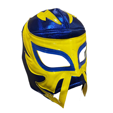 RAYMAN Halloween Lucha Libre Wrestling Mask (pro-fit) Blue/Yellow