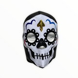 DAY OF DEAD Catrina Lucha Libre Wrestling Mask (pro-fit) Black