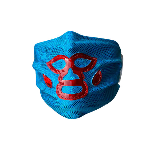 NACHO LIBRE Lucha Libre novelty Adult size Lycra Glitter FACEMASK
