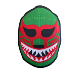 "3.5"" Lucha Libre Iron on Canvas Print Patches (Multiple Luchador Variations) - FREE SHIPPING"