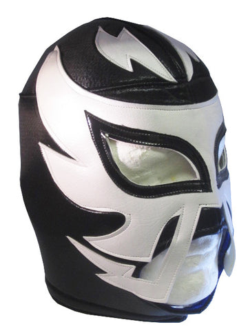 RAYMAN Lucha Libre Wrestling Mask (pro-fit) Black/White