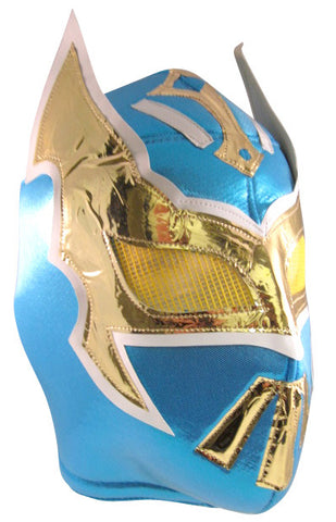 SIN CARA Lucha Libre Wrestling Mask (pro-fit) Light Blue