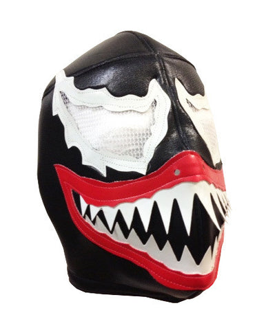 VENOM Lucha Libre Wrestling Mask (pro-fit) Black