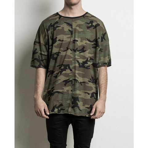 Men Women online shopping fashion cheap Streatwear Camouflage CS Tshirt - HYPERFUSER®