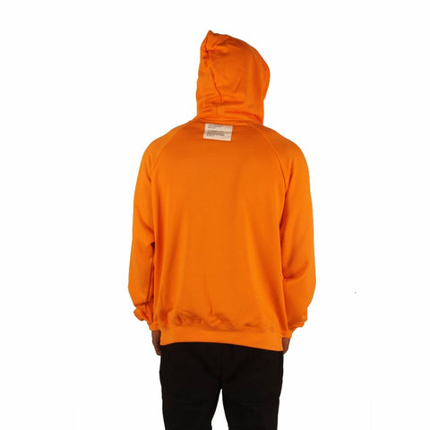 Men Women online shopping fashion cheap Streatwear Orange hooded Fleece - HYPERFUSER®