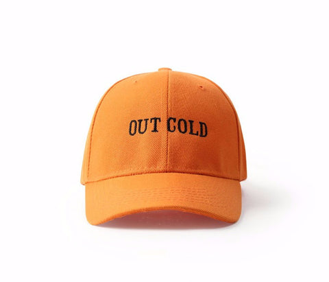 Men Women online shopping fashion cheap Streatwear OUT COLD Baseball Cap - HYPERFUSER®
