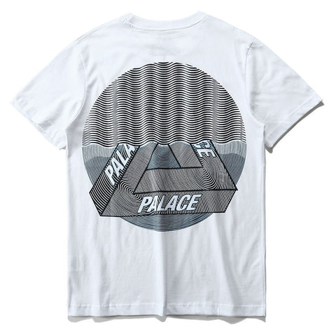 Men Women online shopping fashion cheap Streatwear Palace Visions PsyWaves Tshirt - 2 colors - HYPERFUSER®