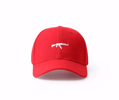 Men Women online shopping fashion cheap Streatwear AK47 Baseball Hat - 2 colors - HYPERFUSER®
