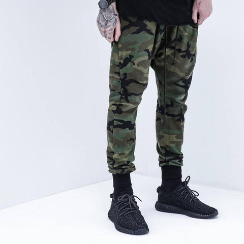 Men Women online shopping fashion cheap Streatwear Autumn Camo slim Jogger - HYPERFUSER®