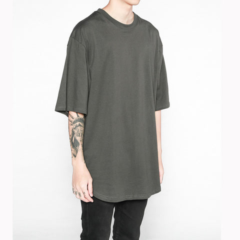 Men Women online shopping fashion cheap Streatwear Extend street oversized T-shirt - 4 Colors - HYPERFUSER®