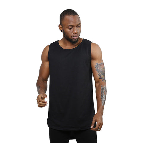 Men Women online shopping fashion cheap Streatwear Plus long tank top - 2 Colors - HYPERFUSER®