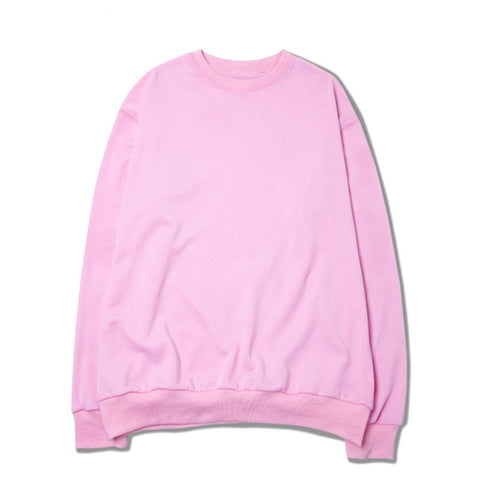 Men Women online shopping fashion cheap Streatwear Pink Classic winter Pullover - HYPERFUSER®