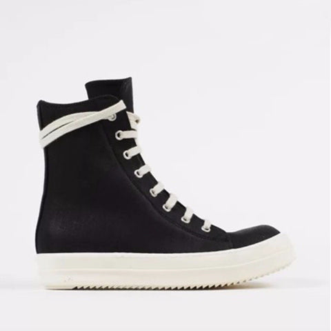Men Women online shopping fashion cheap Streatwear High Top Leather Sneakers - HYPERFUSER®