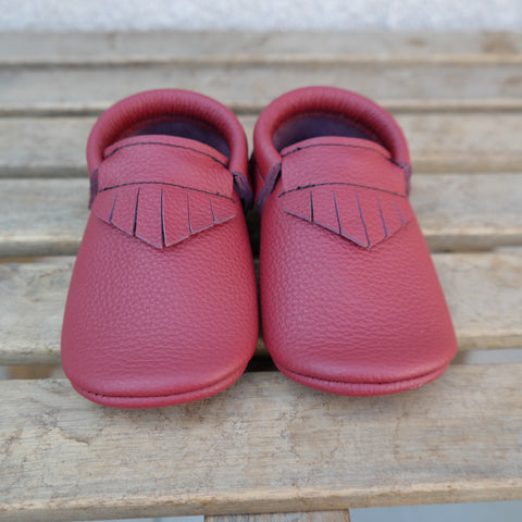 Blood Red moccs