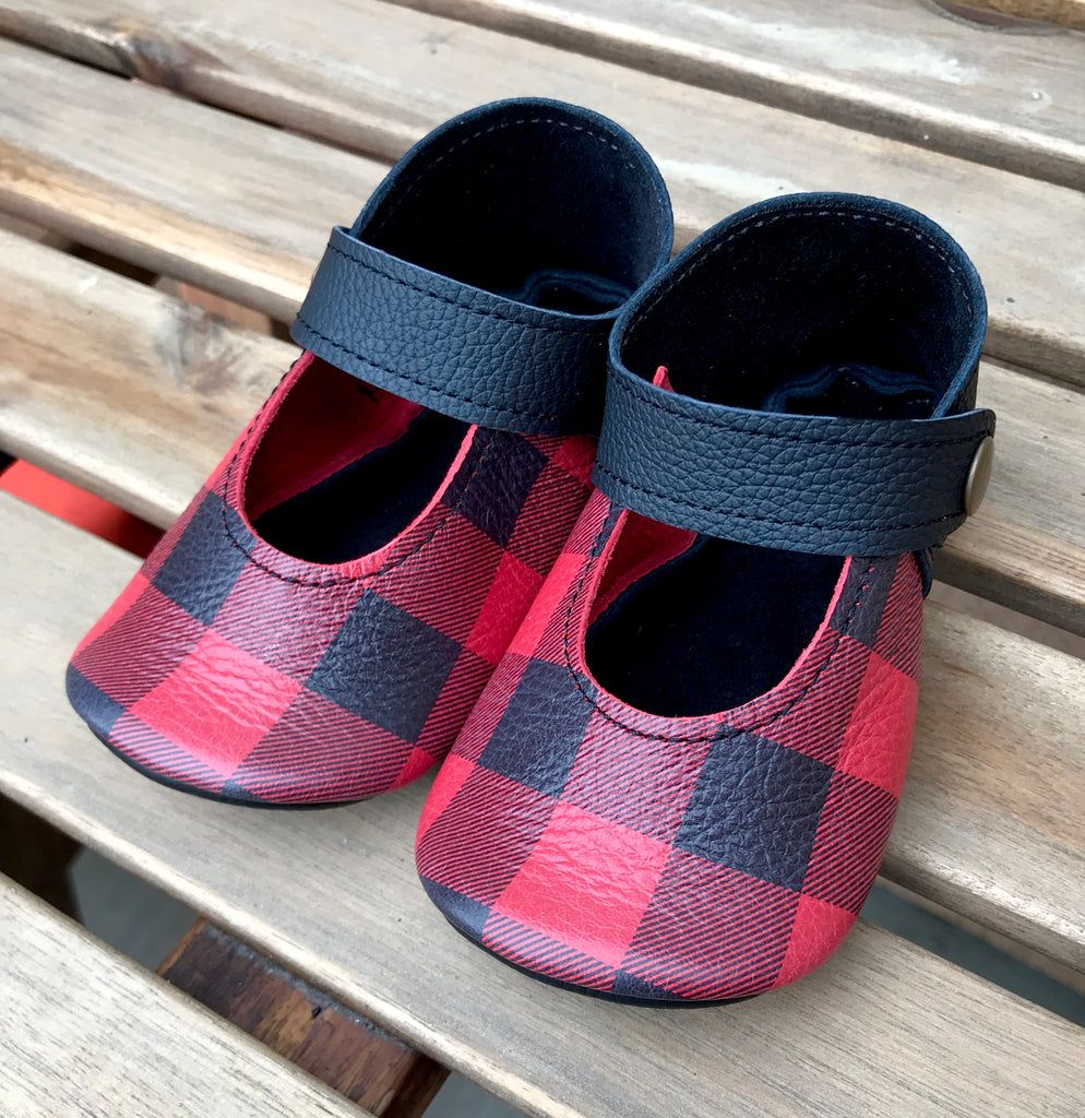Mary Jane Buffalo Plaid