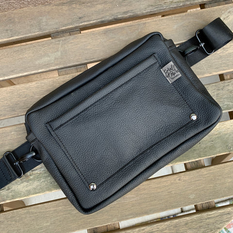 3-in-1 Solid Black bag