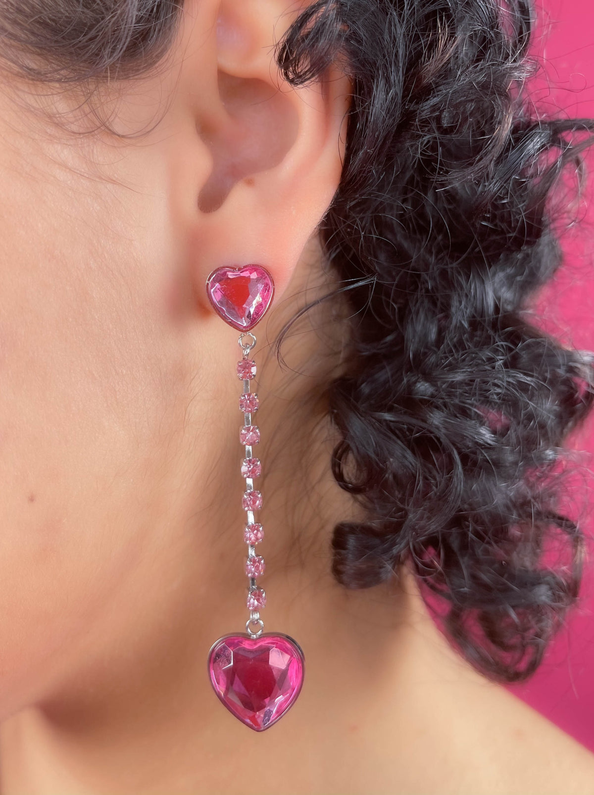 PINK CRUSH EARRINGS