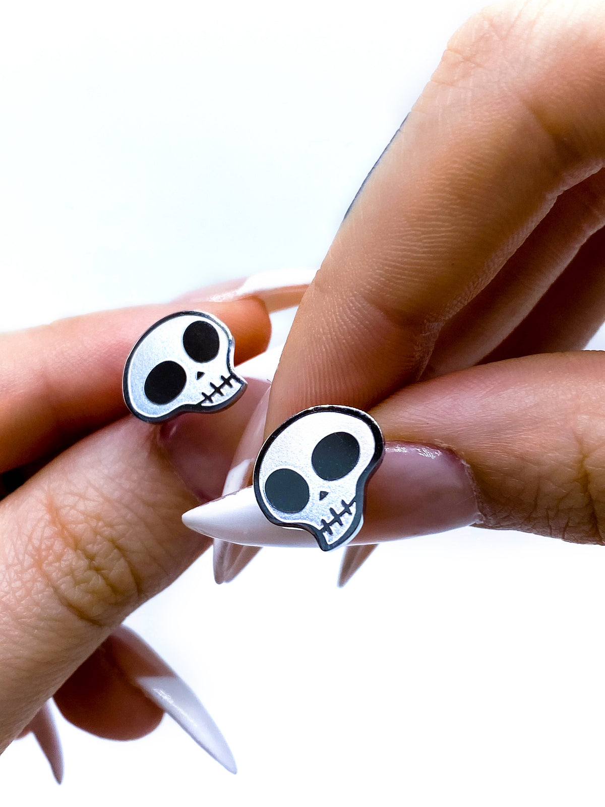 Skully Stud Earrings