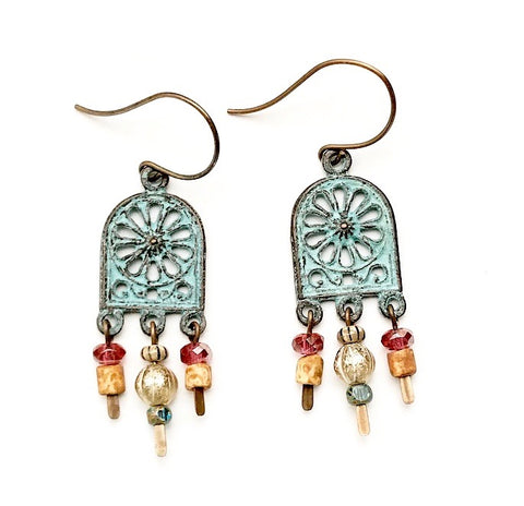 Moroccan Windows Earrings