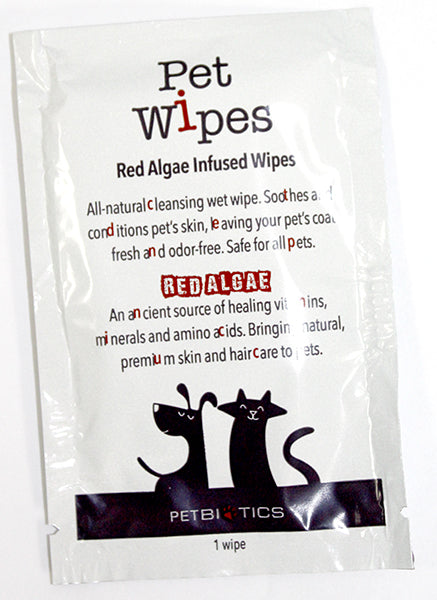 Single Pet Wipes