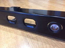 DRL bumper with pressed holes