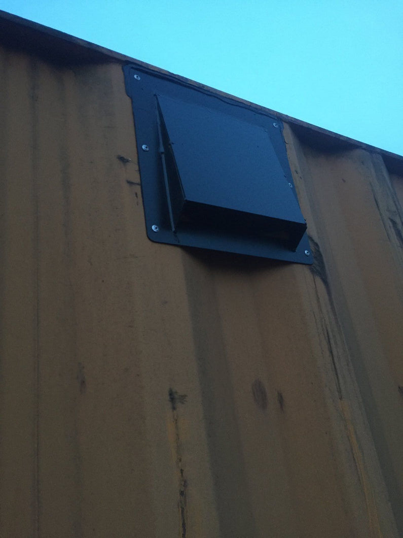 Shipping Container Air Vent (Easy Install) With Mesh