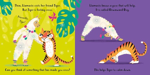 Llamaste and Friends A Yoga Story Board Book