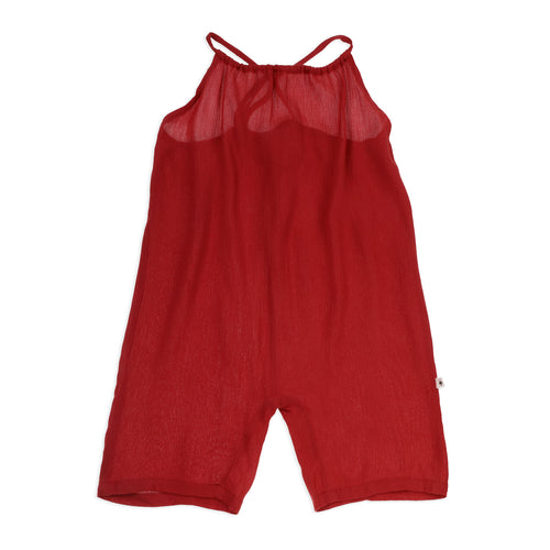 Chloe Overalls Ruby