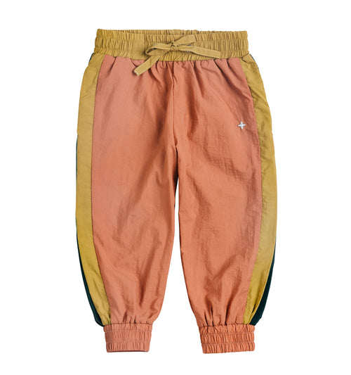 PRE SALE Ryder Parachute Sports Pants Gold/Teal/Coral