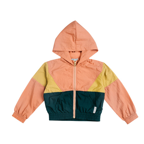 PRE SALE Ryder Parachute Sports Jacket Gold/Teal/Coral