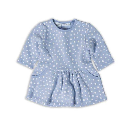 Spotty Dot Gathered Pocket Dress