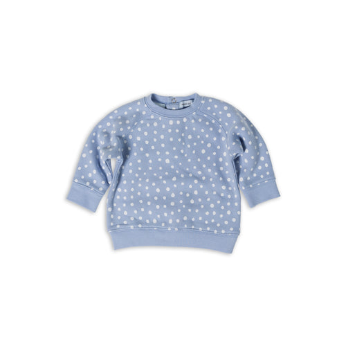 Spotty Dot Terry Sweater