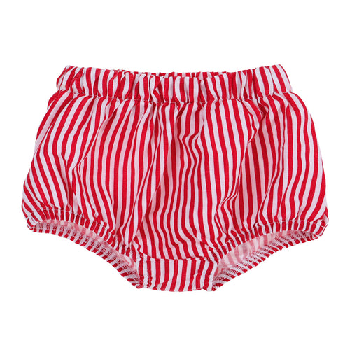 Frankie Linen Bloomers Red Stripe