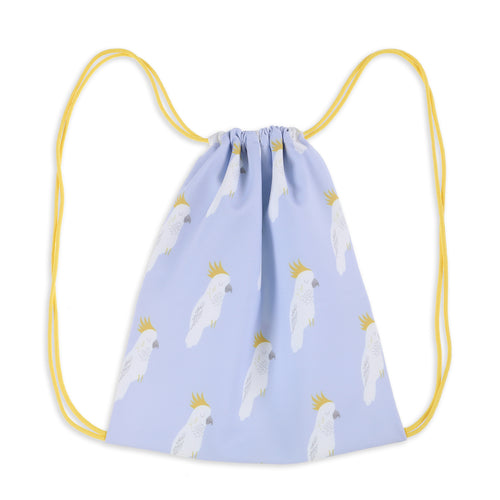 Cockatoo Party Drawstring Swimbag
