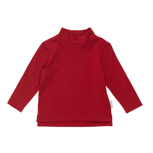 Mini Skivvy Top Pompeian Red
