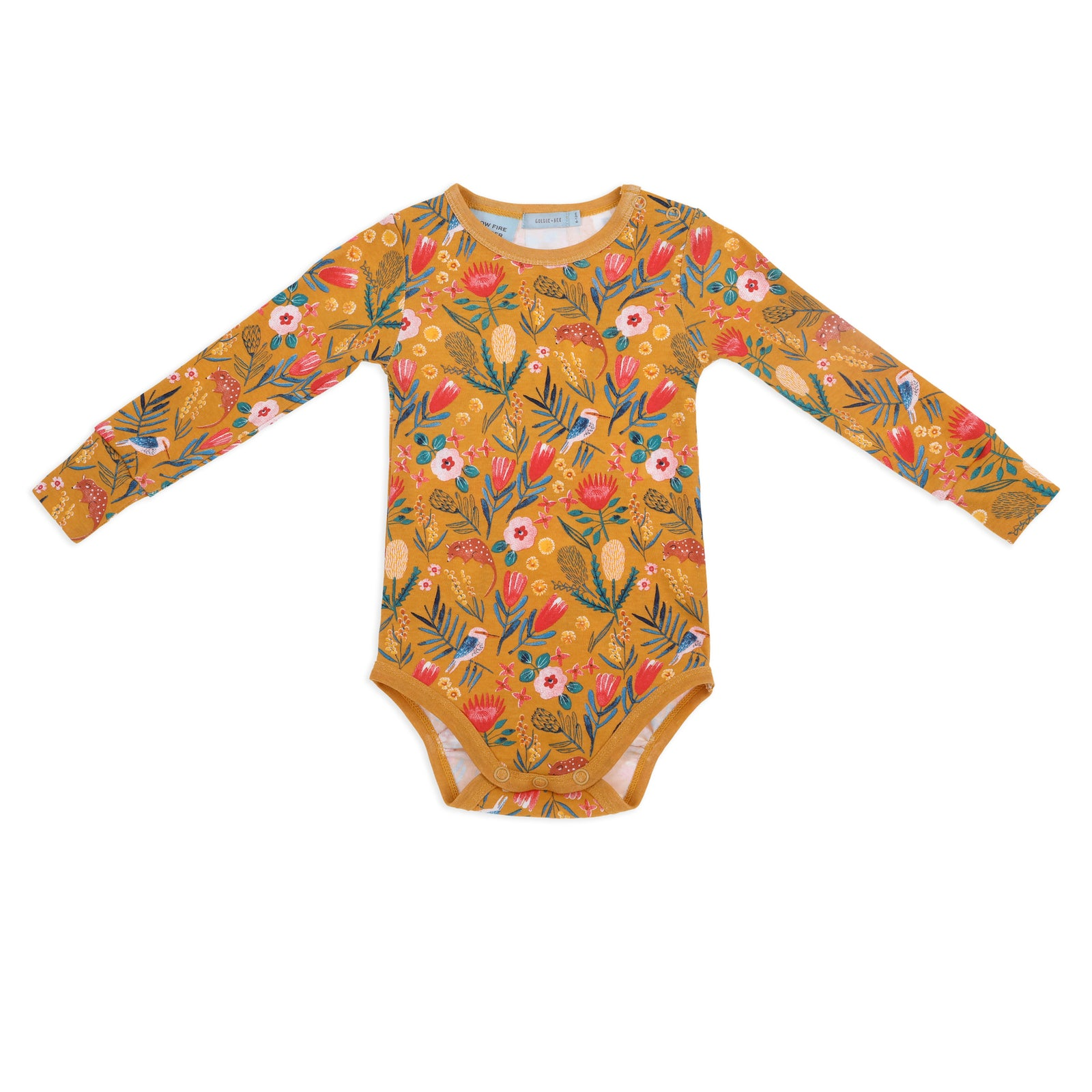 Native Garden Long Sleeve Bodysuit