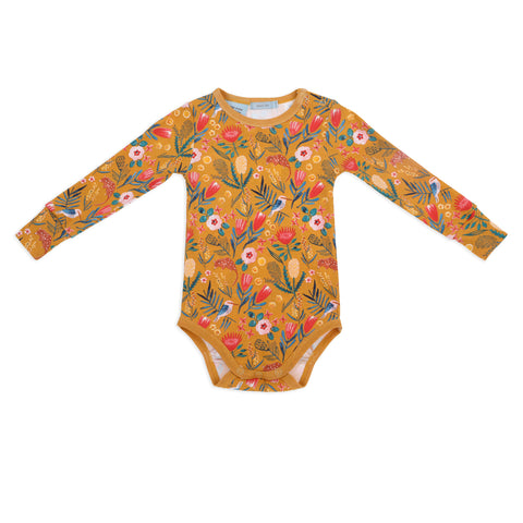 Happy Shapes Long Sleeve Bodysuit