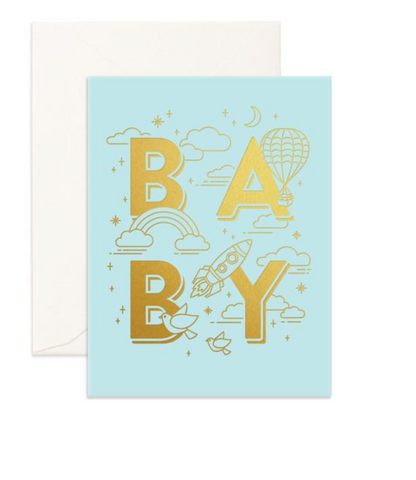 Noah's Ark Card Blush