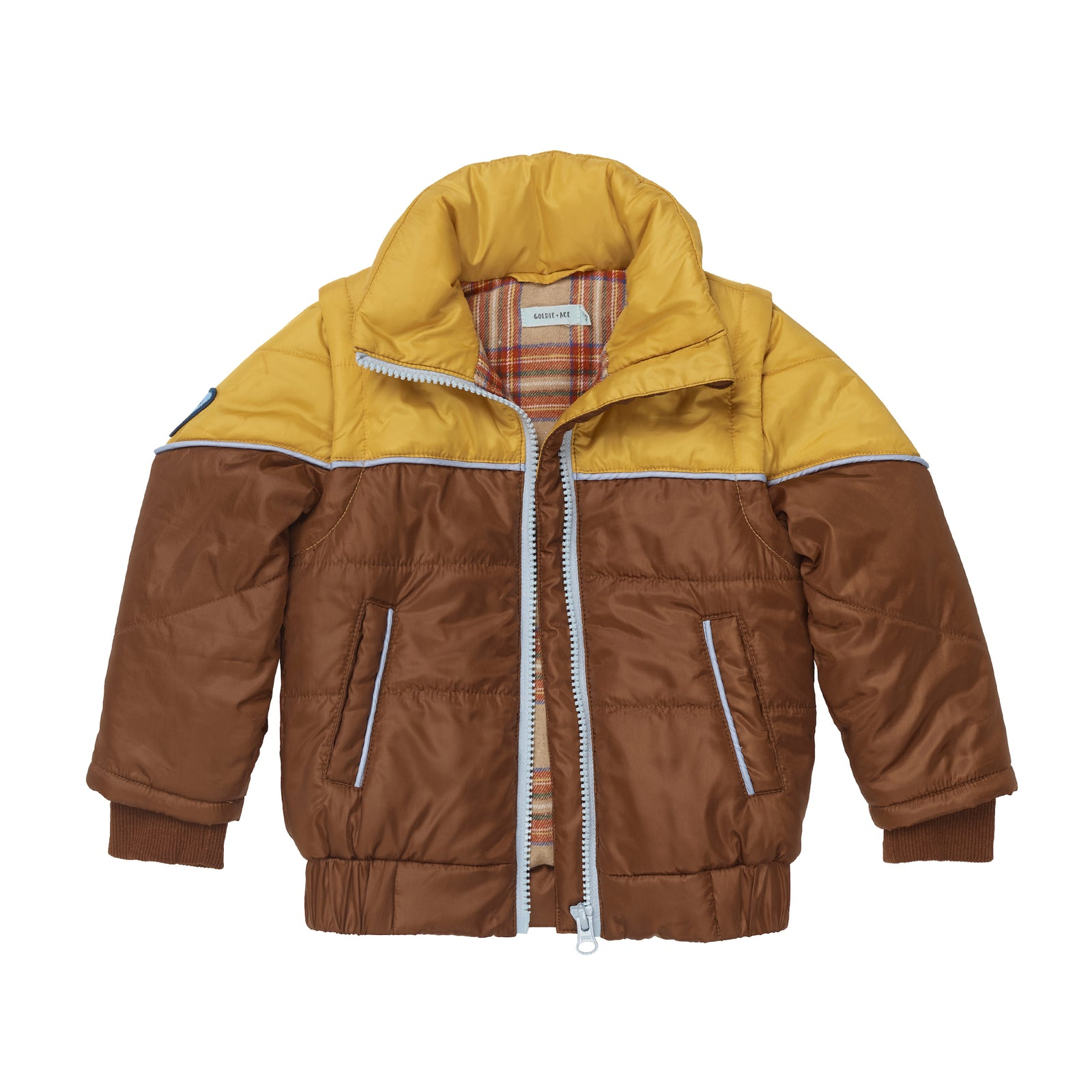 Stevie Vintage Parka Gold/Tortoise Shell