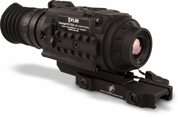 FLIR ThermoSight Pro PTS233 1.5-6x19 (60 Hz) Thermal Rifle Scope