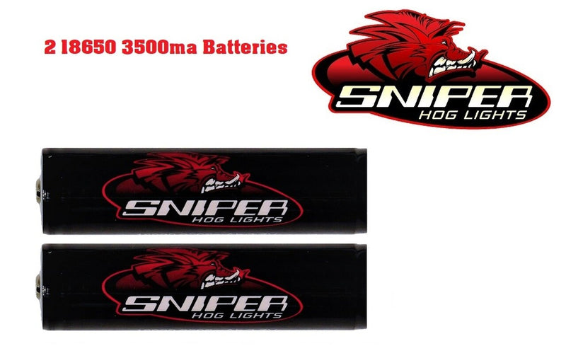 18650 Batteries 3500ma (2-pack)