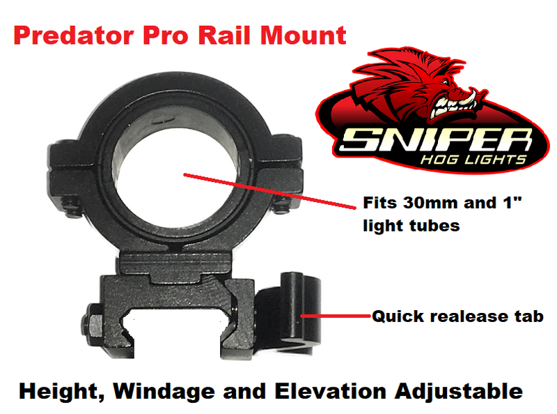 Sniper Hog Light Coyote Cannon IR Illuminator