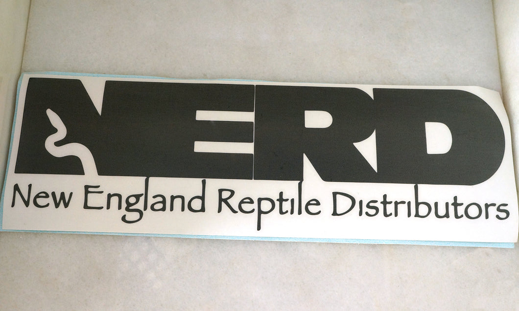 Large NERD Decals